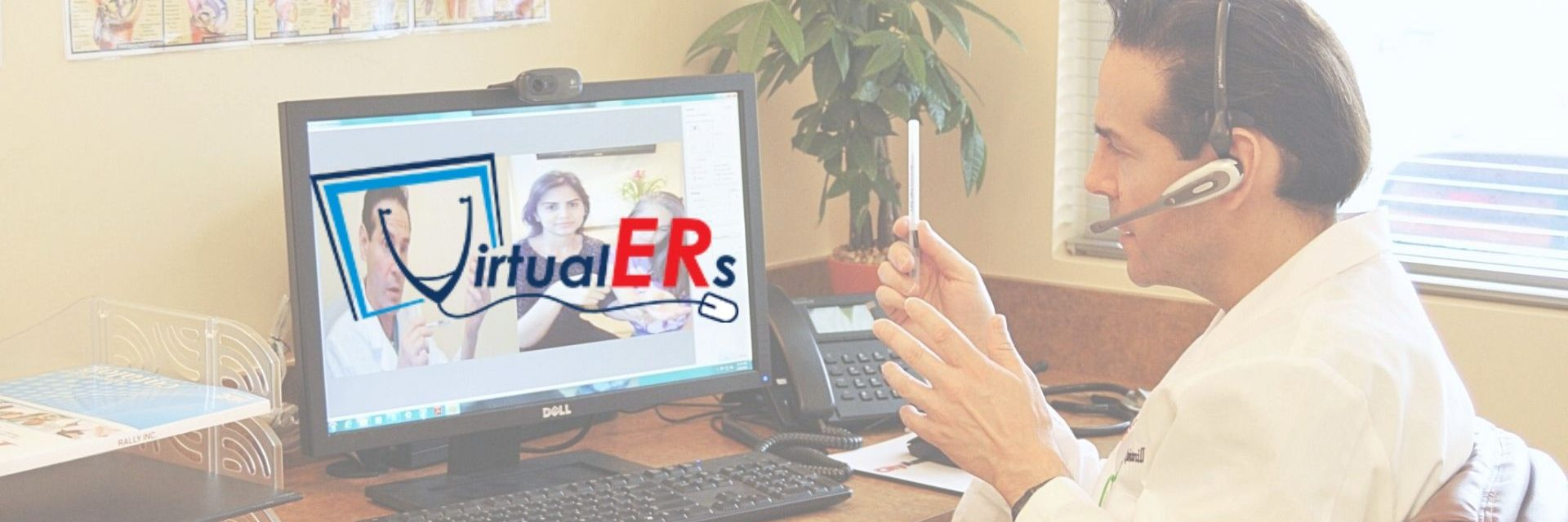 VirtualERs.com</br> Telemedicine at Your Home